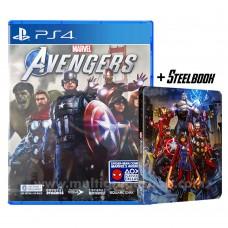 Marvel Avengers +DLC +STEELBOOK