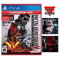 Metal Gear Solid V The Definitive (Ground Zeroes & Phantom Pain) Playstation Hits