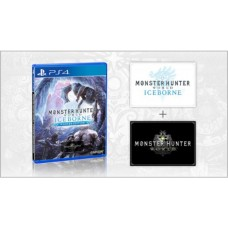 Monster Hunter Iceborne Game + Expansion (no steelcase)