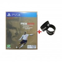 PES WE Winning Eleven Pro Evolution Soccer 2019 David Beckham Edition (small towel inside) + Rubber Band KONAMI
