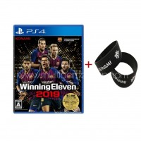 PES WE Winning Eleven Pro Evolution Soccer 2019 + Rubber Band KONAMI
