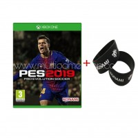 PES Pro Evolution Soccer 2019 + Rubber Band KONAMI