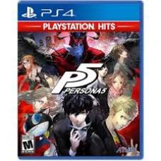 Persona 5 Playstation Hits