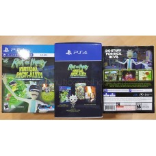 PS4 Rick & Morty Virtual Rick-Ality Collector's Edition