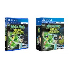 PS4 Rick & Morty Virtual Rick-Ality Collector's Edition + Funko