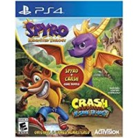 Spyro + Crash Bandicoot Bundle Pack (6Games 2Disc)