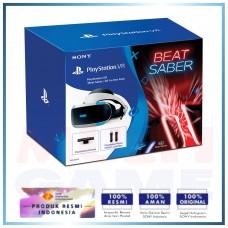 Playstation VR Versi 2 (CUH-ZVR-2) Beat Saber Pack (Camera +2pcs Move Motion +Game DLC)