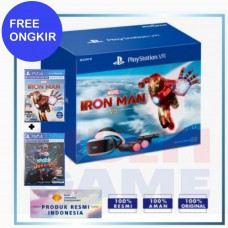 (Free Ongkir) Playstation VR V2 +Camera +Move Motion (CUH-ZVR-2) +Iron Man +Space Junkies