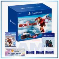 (Promo) Playstation VR V2 +Camera +Move Motion (CUH-ZVR-2) Iron Man Bundle +Badge