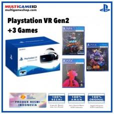 Playstation VR V2 (CUH-ZVR-2) +3 Game VR