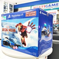 (Official) Playstation VR V2 (CUH-ZVR-2) Iron Man Bundle