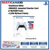 PS5 DualSense Wireless Controller +NBA 2K22 Jumpstart Bundle