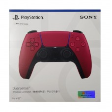 PS5 DualSense Wireless Controller ( Cosmic Red ) + Performance Thumb Grips FIFA