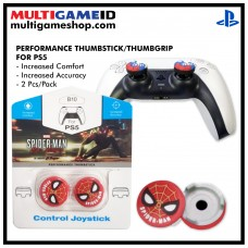 PS5/PS4 Performance Thumb Grips Spiderman Red