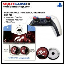 PS5/PS4 Performance Thumb Grips Granturismo Red