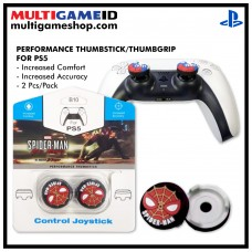 PS5/PS4 Performance Thumb Grips Spiderman Black