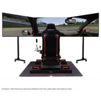 Next Level Racing Free Standing Triple Monitor Stand w/Roller
