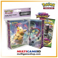 Pokemon TCG SS4 Vivid Voltage Mini Portfolio + Booster Pack