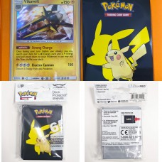 Pokemon Card Sleeve 65 Pikachu (66mmx91mm)
