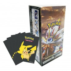 Pokemon TCG Indonesia 2b Box +Bonus Sleeves Pikachu