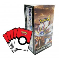 Pokemon TCG Indonesia 2b Box +Bonus Sleeves Pokeball