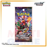 Pokemon TCG Indonesia Seri SC1b Pedang&Perisai Booster Pack