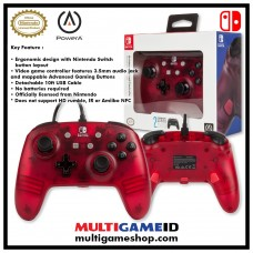 Switch Wired Controller Frost Red (PowerA) 02127-5