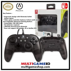Switch Wired Controller Frost Black (PowerA)