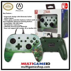 Switch Wired Controller Link Green Zelda (PowerA) 02138-1