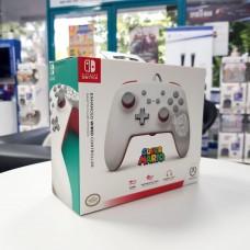Switch Wired Controller Mario White (PowerA)
