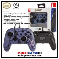 Switch Wired Controller Purple Mewtwo Pokemon (PowerA) 02027-8
