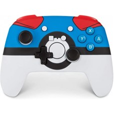 Switch Wireless Controller Pokemon GREATBALL (PowerA) 02035-3