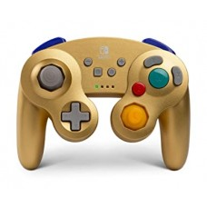 Switch Wireless Controller GameCube GOLD Metallic (PowerA) 01894-7