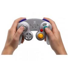 Switch Wireless Controller GameCube SILVER Metallic (PowerA) 01897-8