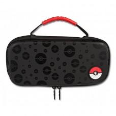 Switch Protection Case Pokemon Black With Pokeball (PowerA) 02125-1