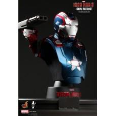Iron Man 3 (Iron Patriot) Bust Series Hot Toys