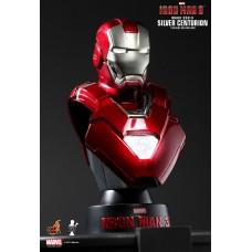 Iron Man 3 (Silver Centurion Mark XXXIII) Bust Series Hot Toys