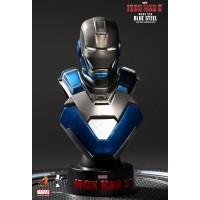 Iron Man 3 (Blue Steel Mark XXX) Bust Series Hot Toys
