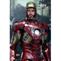 Marvel Avengers Battle Damaged MARK VII Movie Promo Edition HT MMS196MK7BD