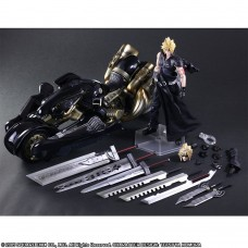 FINAL FANTASY VII ADVENT CHILDREN  CLOUD STRIFE & FENRIR (KAI) - PLAY ARTS