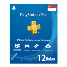 PSN Plus 12 Bulan R3 Asia Singapore (Digital Code)