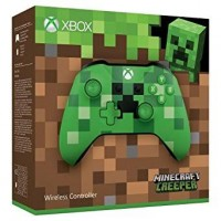 Xbox One S Wireless Controller Minecraft Creeper Edition