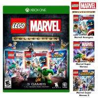 Lego Marvel Collection (Lego Marvel SH1 & 2 +Lego Avenger)