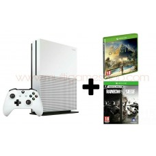 Xbox One S 1TB White + Assassin Creed Origins + Rainbow Six Siege + Bonus DLC