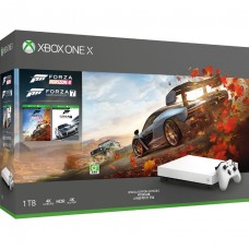 XB1-X 1TB Forza Horizon 4 + Forza 7 Bundle (White Limited)