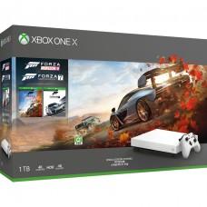 XB1-X 1TB Forza Horizon 4 + Forza 7 Bundle (White)