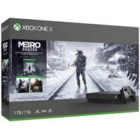 XB1-X 1TB Metro Exodus Bundle (Black)
