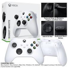 "New XBox Series Wireless Controller ""Robot White"""