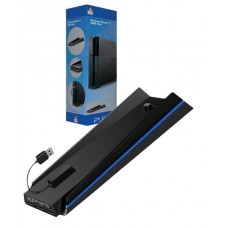PS4 1006/1106/1206 4Gamers Vertical Stand with 4 USB Hub