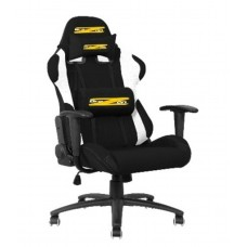 BraZen Shadow PRO Racing PC Gaming Chair (Black/White)